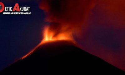 gunung berapi, erupsi,