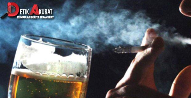 nikotin, alkohol,kesehatan