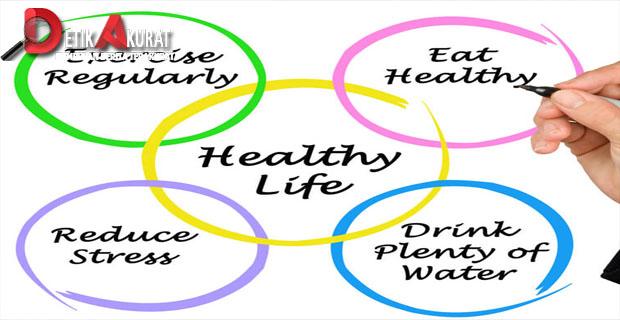 Hidup sehat, olahraga, diet
