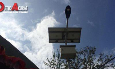 Pemerintah akan Bangun 20 Ribu Penerangan Jalan Tenaga Surya