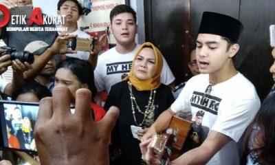 Penahanan Ahmad Dhani Diperpanjang, Al Mengadu ke Komnas HAM