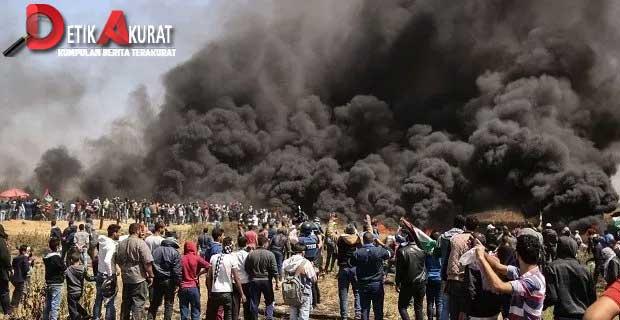 ditembak-israel-di-perbatasan-gaza-seorang-warga-palestina-tewas
