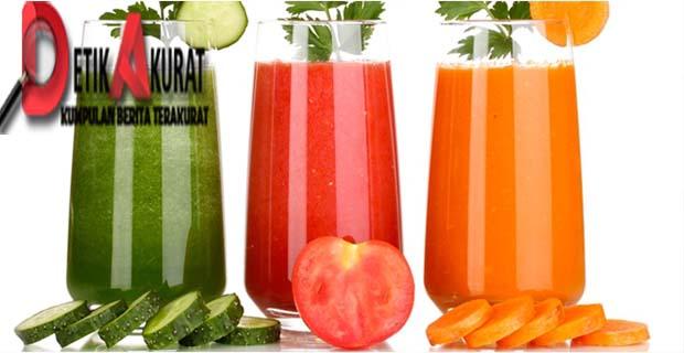 7 Jus Sayuran Terbaik Untuk Membantu Menurunkan Berat Badan Detik Akurat