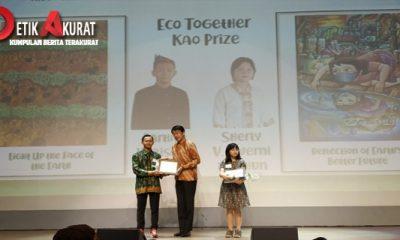 Wakili Indonesia, Dua Pelajar SMP Menang Lomba Lukis Lingkungan di Jepang
