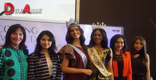 Miss World 2018 Beri Motivasi untuk Finalis Miss Indonesia 2019