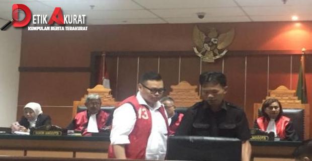Terbukti Bersalah, Reza Bukan Divonis 4,5 Tahun Bui