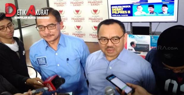 ika Terpilih, Prabowo - Sandiaga Akan Pisah Kementerian PU dan PR