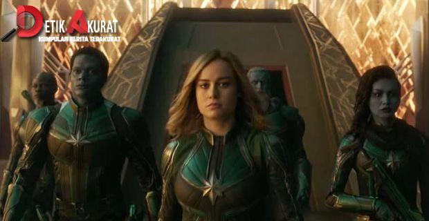 Indonesia Sumbang Rp91 M untuk 'Captain Marvel'