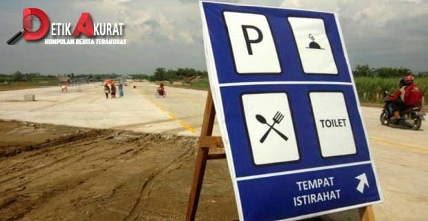 pedagang rest area