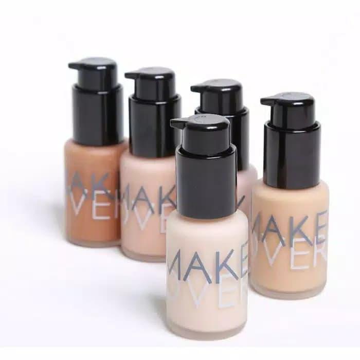 2. Make Over Ultra Cover Liquid Matt Foundation