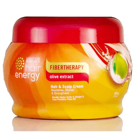 3. MAKARIZO Hair Energy Fibertherapy Olive