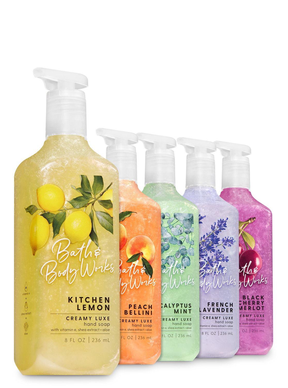 8. Bath & Body Works Creamy Luxe Hand Soap